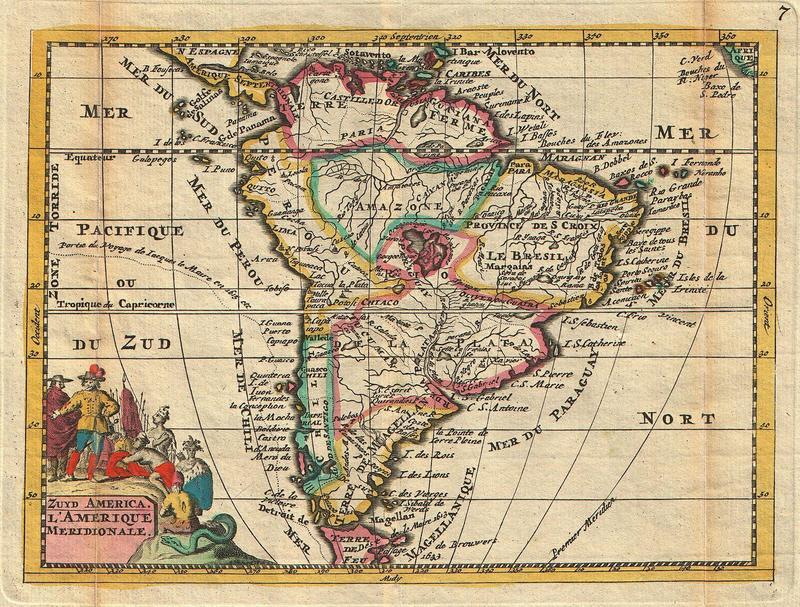 Zuyd America - L'Amerique Meridionale